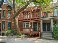 Yonge & Rosedale Duplex for sale:  4 bedroom  (Listed 2018-09-04)