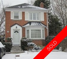 South Leaside Detached for sale:  3 bedroom 2,300 sq.ft. (Listed 2011-04-11)