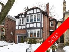South Leaside Detached for sale:  4 bedroom  (Listed 2014-02-24)